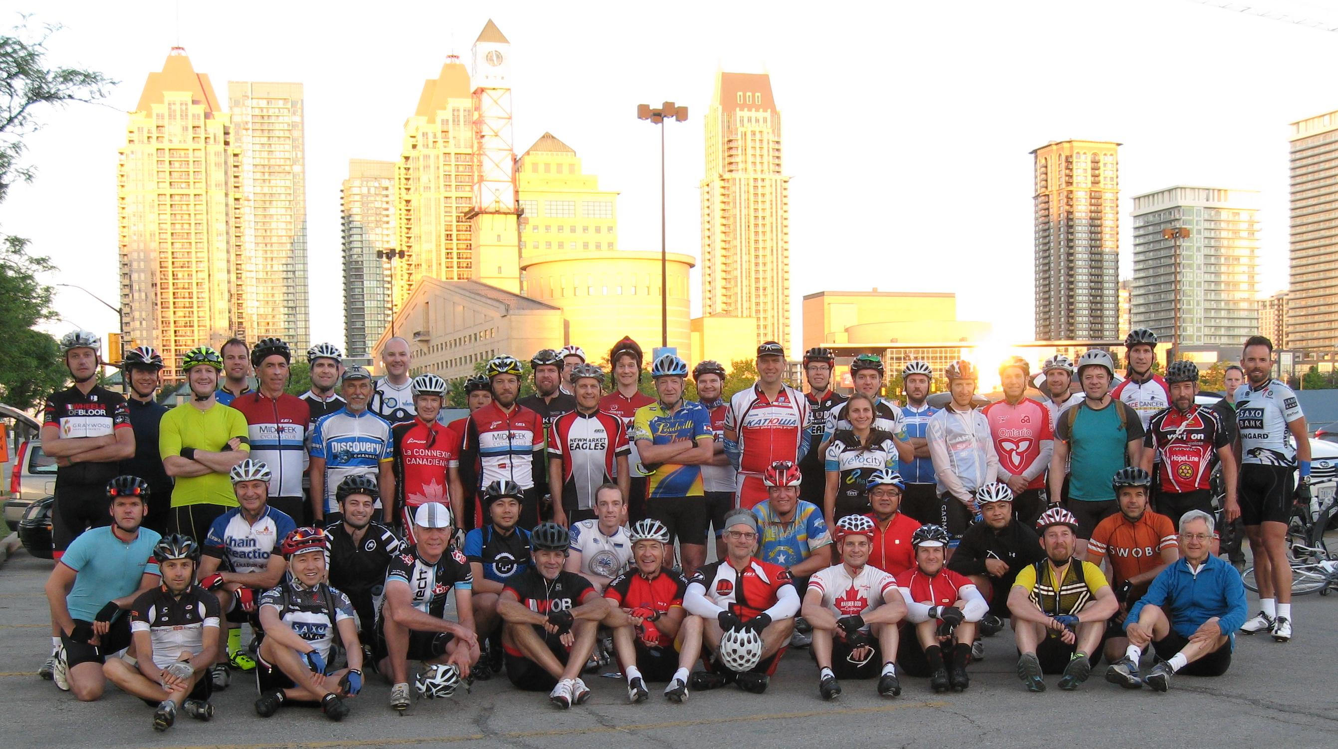 2014 group photo. Most of the starters are in the picture.